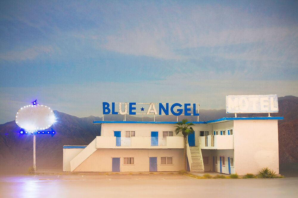 'Blue Angel', Anna Carey 2014_Exhibited at Photo LA, USA 2015